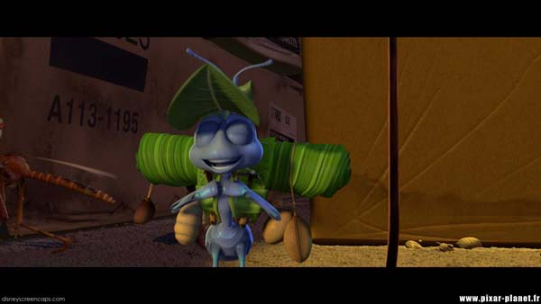 A box in A Bug's Life.