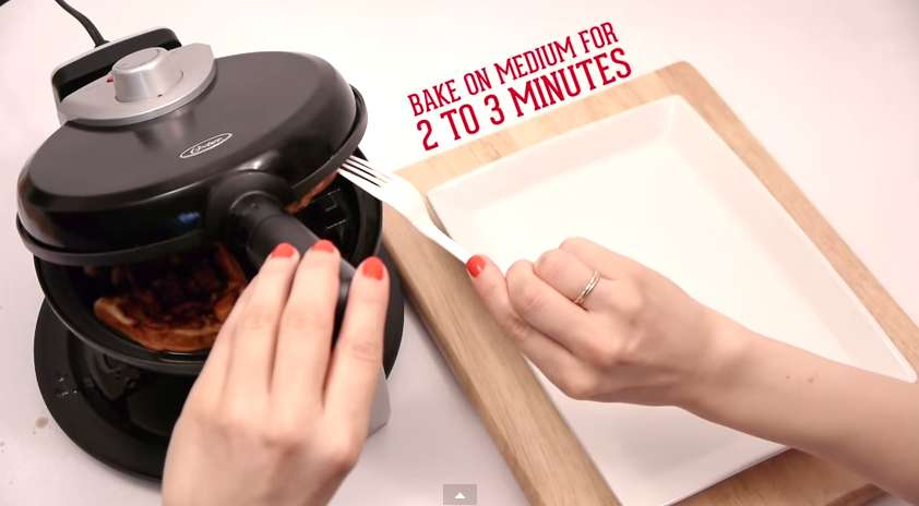 You Can Create Something Incredible Using A Simple Waffle Maker