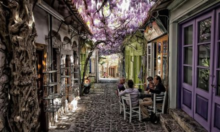 15 Of The World's Most Magical Streets Shaded By Flowers And Trees