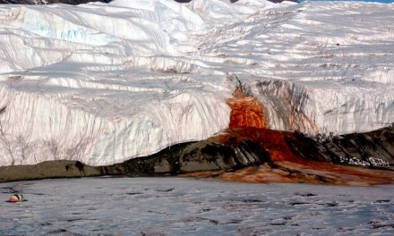 This Special Bleeding Glacier Is A Rare Phenomenon In Nature – You Have To See It
