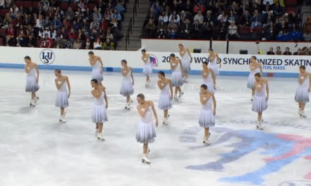 These Women Aren't Ice Skating…Once They Start Moving, You'll Be Stunned