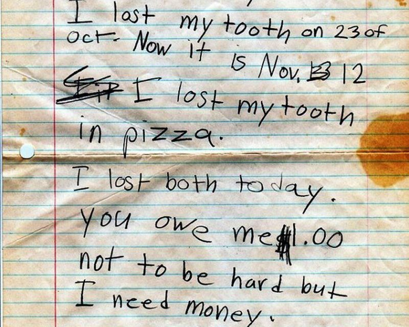 20 Hilarious Notes That Prove Kids Are More Honest Than Adults