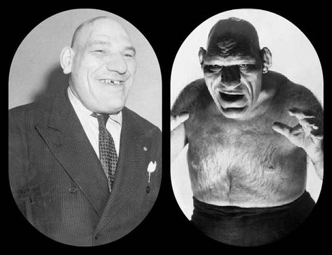 """3.) Maurice Tillet, also known as """"The French Angel."""""""