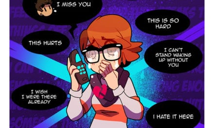 Artist Beautifully Illustrates The Highs And Lows Of Long Distance Reltionship