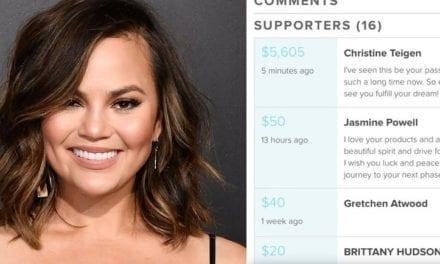 Model Chrissy Teigen Helps Pay Fan's Beauty School Fee So She Can Fulfill Her Dream