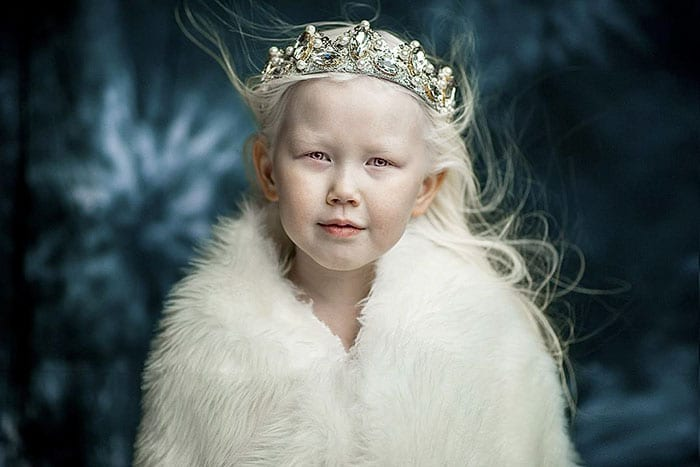 Fashion Agencies From All Around The World Are Swooning Over 8-Year-Old Albino Girl From Siberia