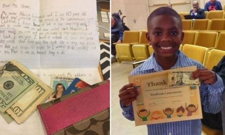 10-Year-Old Boy Finds A Stranger's Wallet And Proves That There's Still Good In The World