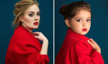 3-Year-Old Girl Recreates Portraits Of Powerful Women To Show How Strong Women Are