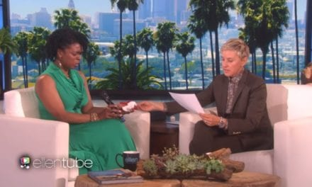 Hardworking Mom From Bronx Meets Ellen DeGeneres And Can't Hold Back Her Tears!