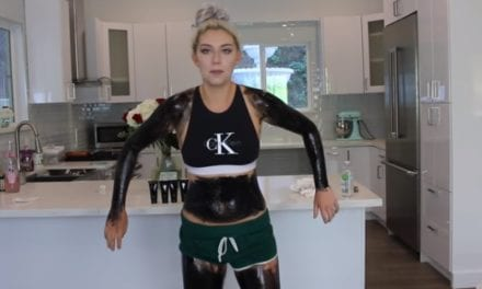 Youtuber Challenged Herself To Use Painful Black Peel Mask All Over Her Body But The End Result Blew Her Mind