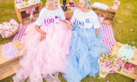 Twin Sisters Celebrate 100th Birthday With A Fun Photoshoot