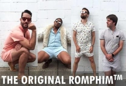 Say Hello To RompHim – Rompers For Men