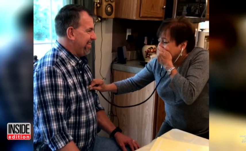 Emotional Moment When Mother Heard Her Dead Son's Heart Beating Inside Another Man's Chest