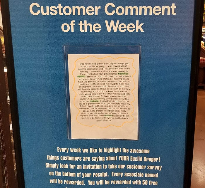 Grandma's Note About Store Employee And Grandson Goes Viral!