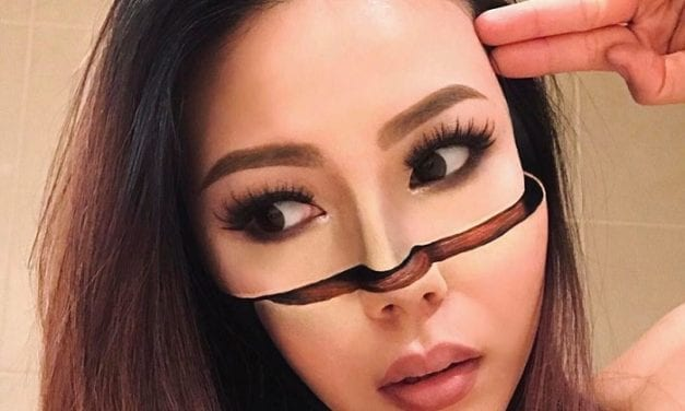 Pre-School Teacher Quits Job To Become An Optical Illusions Makeup Artist And Her Work Is Mind-Blowing