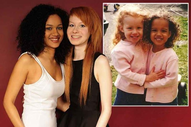 Unique Black And White Twin Sisters Celebrate Being The Same But Different