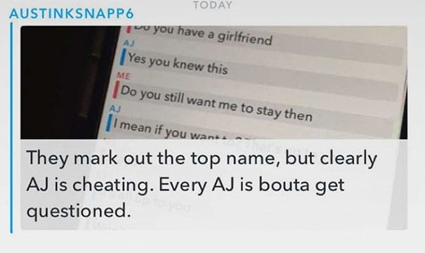 College Student Gets Caught Cheating On Girlfriend And The Internet Has An Important Message For Him