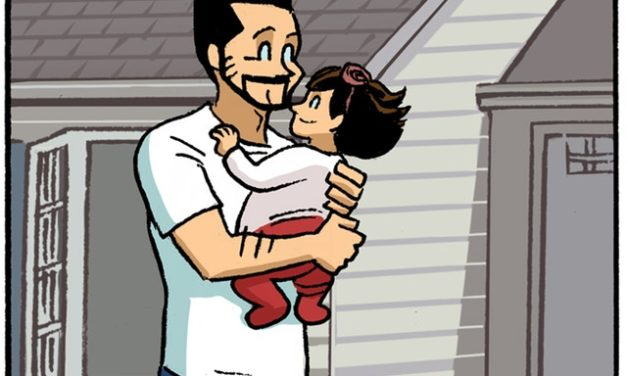 This Father-Daughter Comic Shows How Fast Kids Really Grow Up