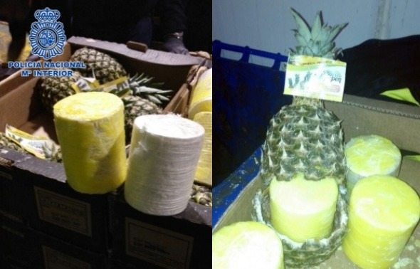 Smuggling Ring Busted For Transporting Cocaine In Pineapples