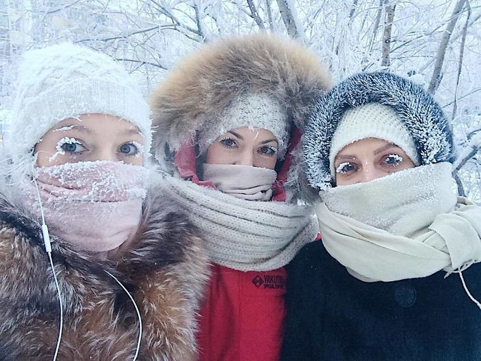 The World's Coldest Place Oymyakon Hits -62°C And You Won't Believe How People Are Living There