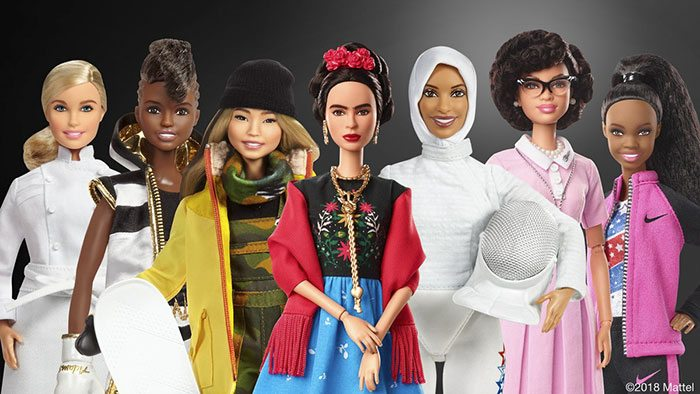 Toy Brand Barbie Has Released 17 New Dolls To Honor Inspiring Women