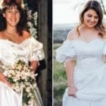 Bride Wears Late Mother's Wedding Dress In A Touching Pre-Wedding Photoshoot