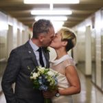 High School Sweethearts Get Married In Front Of Their Old Lockers Where They Had Met Nearly 30 Years Ago