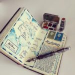 Artist Travels The World And Pens Everything In Little Journal In The Form Of Art